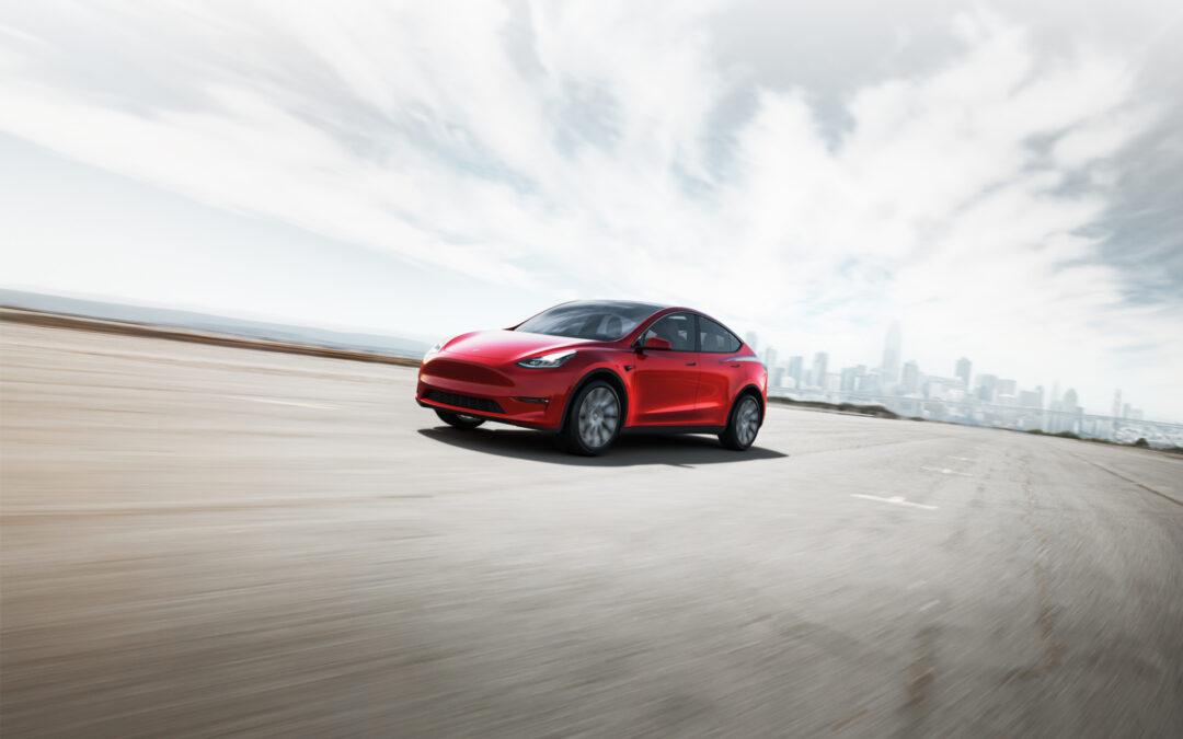 Tesla Model Y inmiddels leverbaar